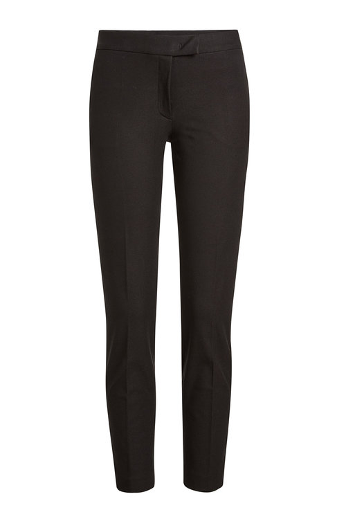 Joseph Tailored Pants With Cotton In Black
