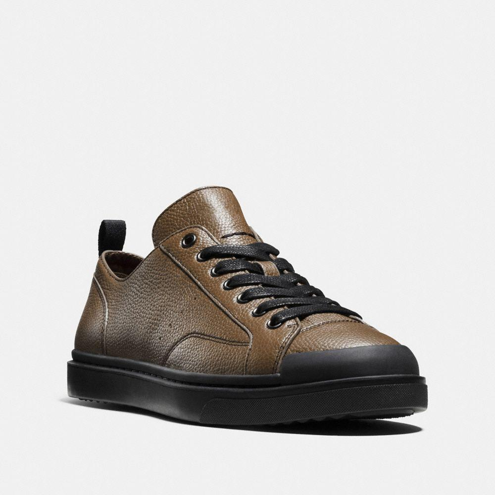 Coach C114 Low Top Sneaker In Fatigue/black