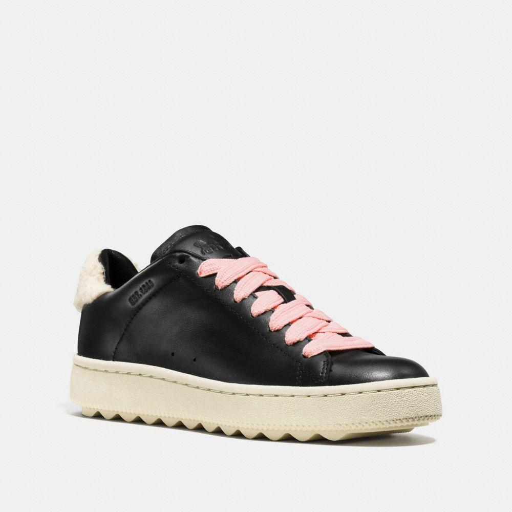 Coach C101 With Shearling - Women's In Black