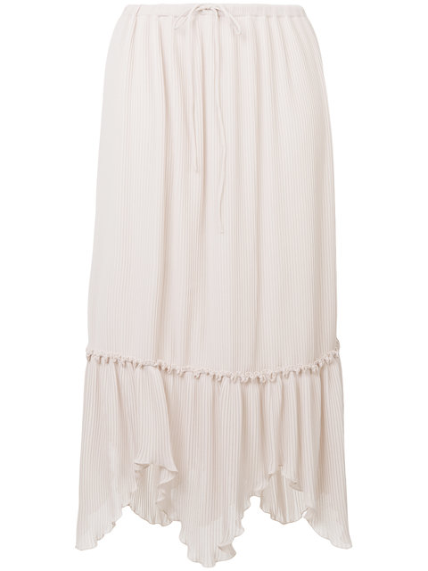 See By ChloÉ Pleated Midi-skirt