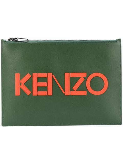 Kenzo Paris Clutch - Green