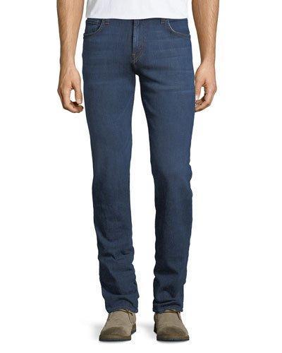 J Brand Men's Kane Straight-leg Jeans In Medium Blue