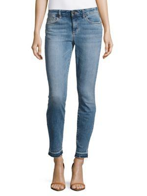 Joe's Jeans Mid-rise Skinny Ankle Jeans In Vienna