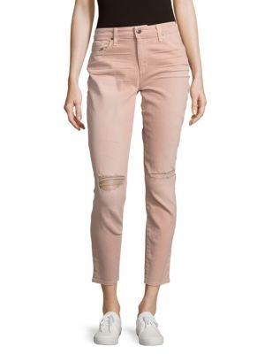 Joe's Jeans Solid Skinny-fit Jeans In Blush