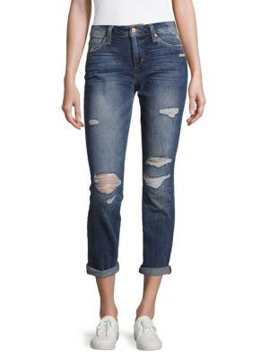 Joe's Jeans Roll-up Cropped Pants In Mayra