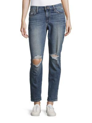 Joe's Jeans Slim-fit Boyfriend Jeans In Denise