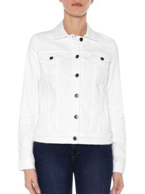 Joe's Jeans Relaxed Cotton Button-down Jacket In Bailey