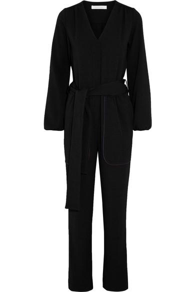 See By ChloÉ Crepe Jumpsuit In Black