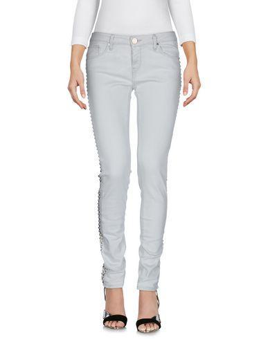 Pinko Denim Pants In Light Grey