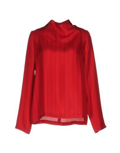 Each X Other Blouses In Brick Red