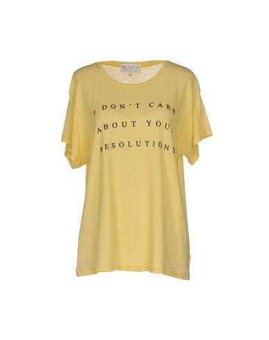 Wildfox T-shirts In Yellow