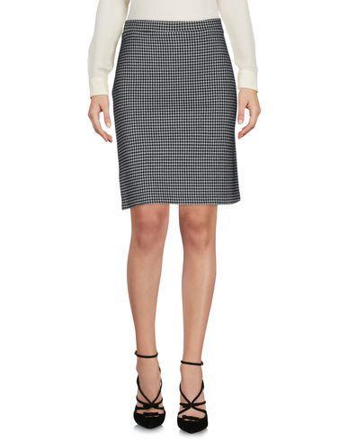 Pinko Knee Length Skirts In Black