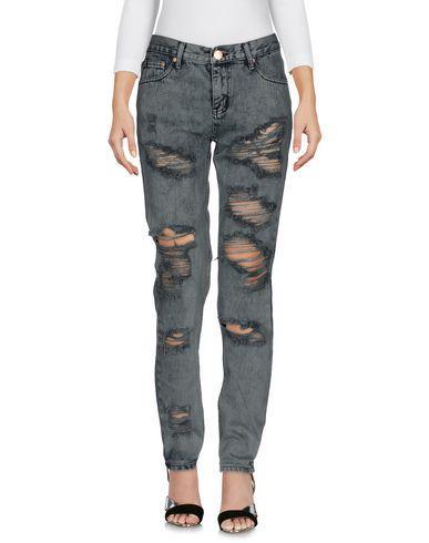 Glamorous Denim Pants In Grey