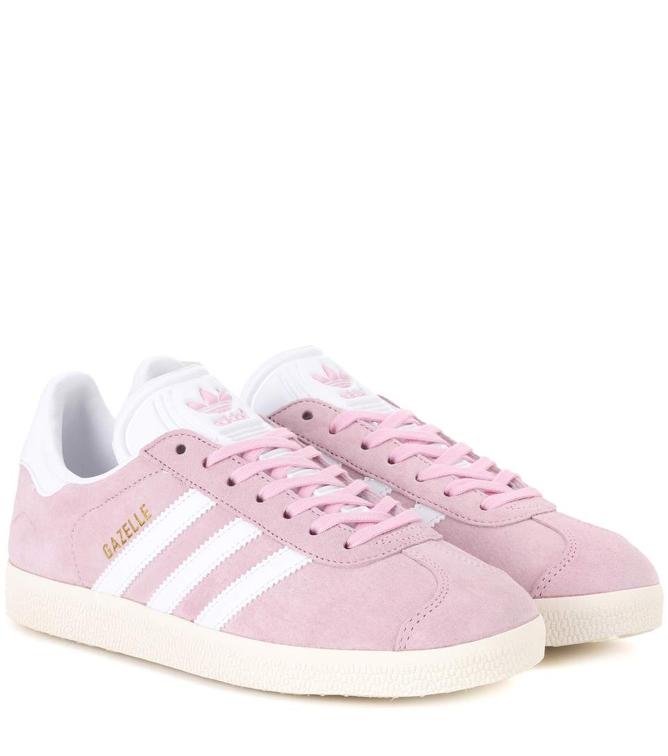 Pink Suede Gazelle Og Sneakers In ピン�? title=