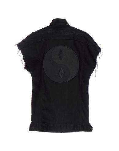 Marcelo Burlon County Of Milan Denim Outerwear In Black