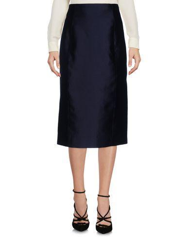 Capucci Midi Skirts In Dark Blue
