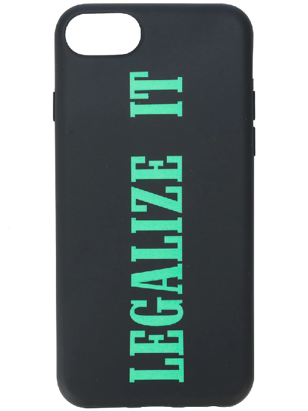 Palm Angels Legalize It I-phone 7 Case In Black
