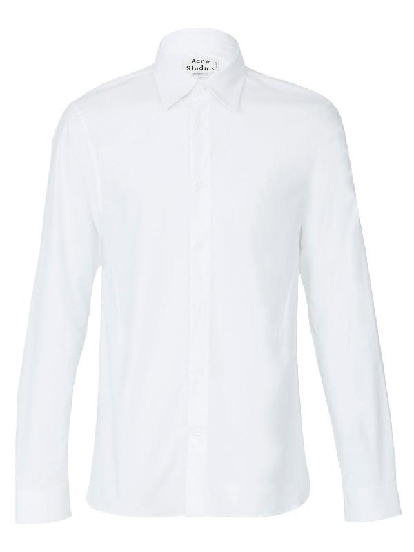 Acne Studios 'glasgow' Stretch Cotton Poplin Shirt