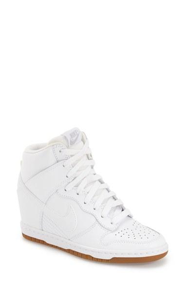 wholesale dealer f5cc3 93366 Nike  Dunk Sky Hi - Essential  Wedge Sneaker (Women) In White . Nordstrom