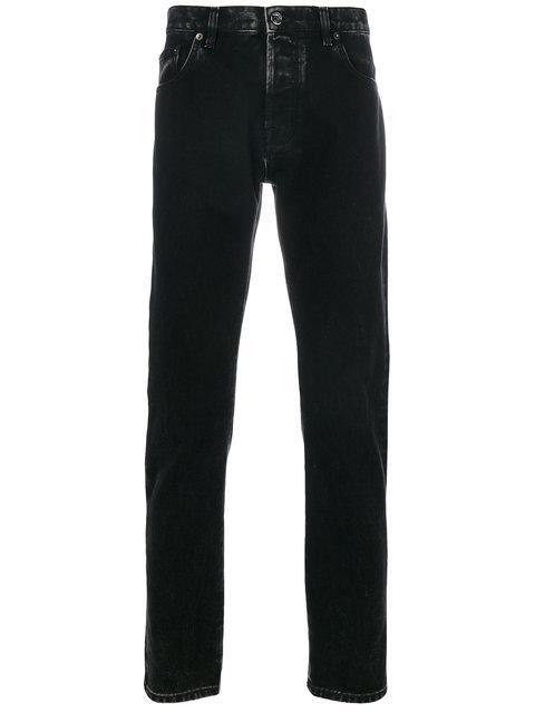 Valentino Marble Wash Jeans - Black