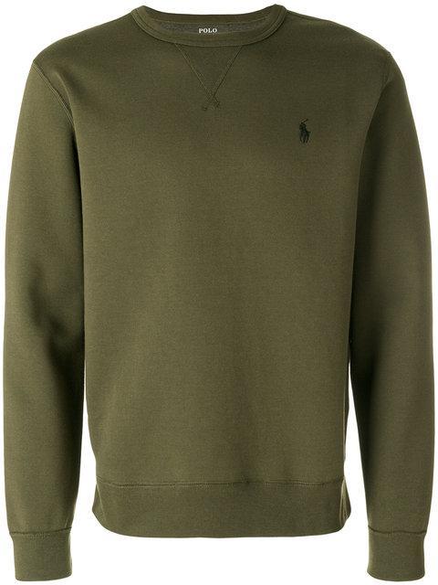 Polo Ralph Lauren Logo Embroidery Sweatshirt - Green