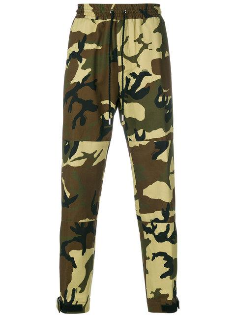 Givenchy Camouflage Print Track Pants