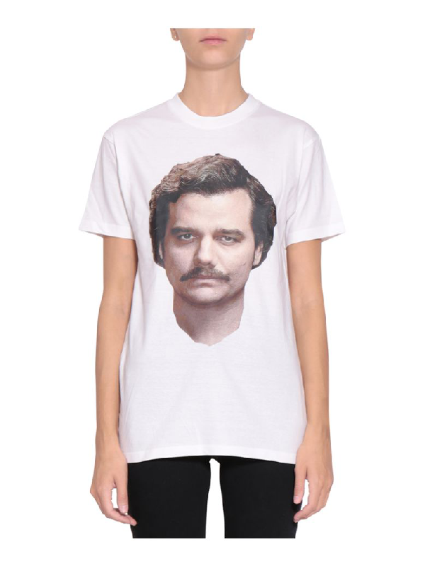 Ih Nom Uh Nit Pablo Oversized Cotton T-shirt In Bianco