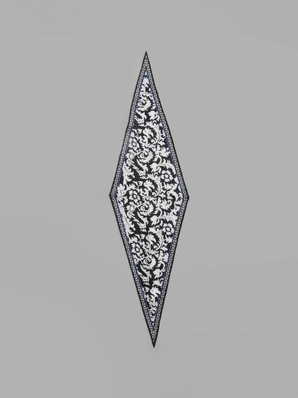 Haider Ackermann Women's Multicolor Diamond Scarf
