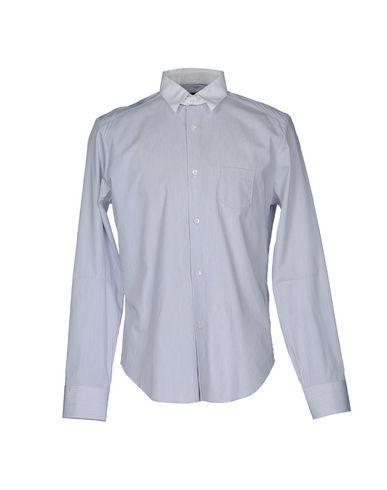 Neil Barrett Striped Shirt In Lilac