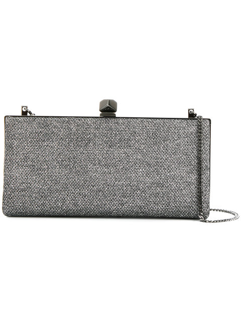 Jimmy Choo Celeste Clutch Bag - Metallic