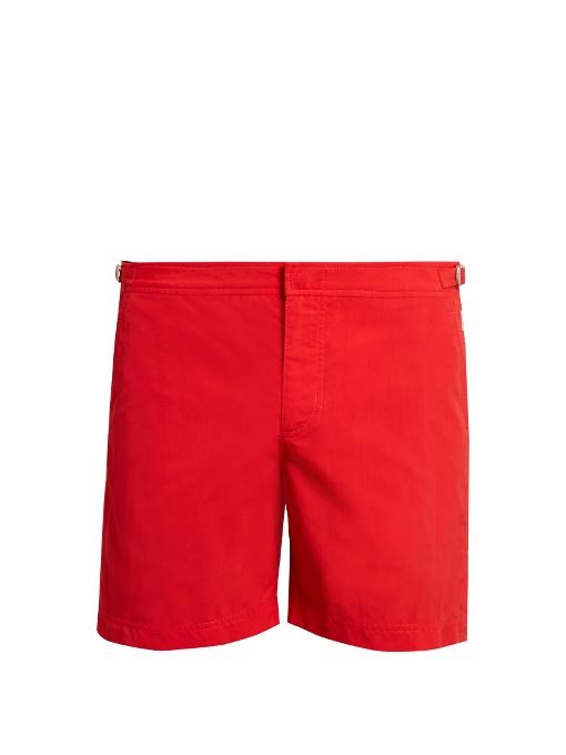 a5baeaa3bf Orlebar Brown Bulldog Mid-Length Swim Shorts In Red | ModeSens