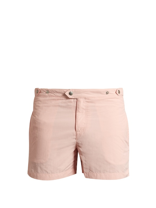 Solid & Striped The Kennedy Swim Shorts In Pink