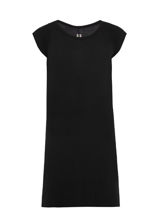 Rick Owens Cyclops Jersey T-shirt In Black