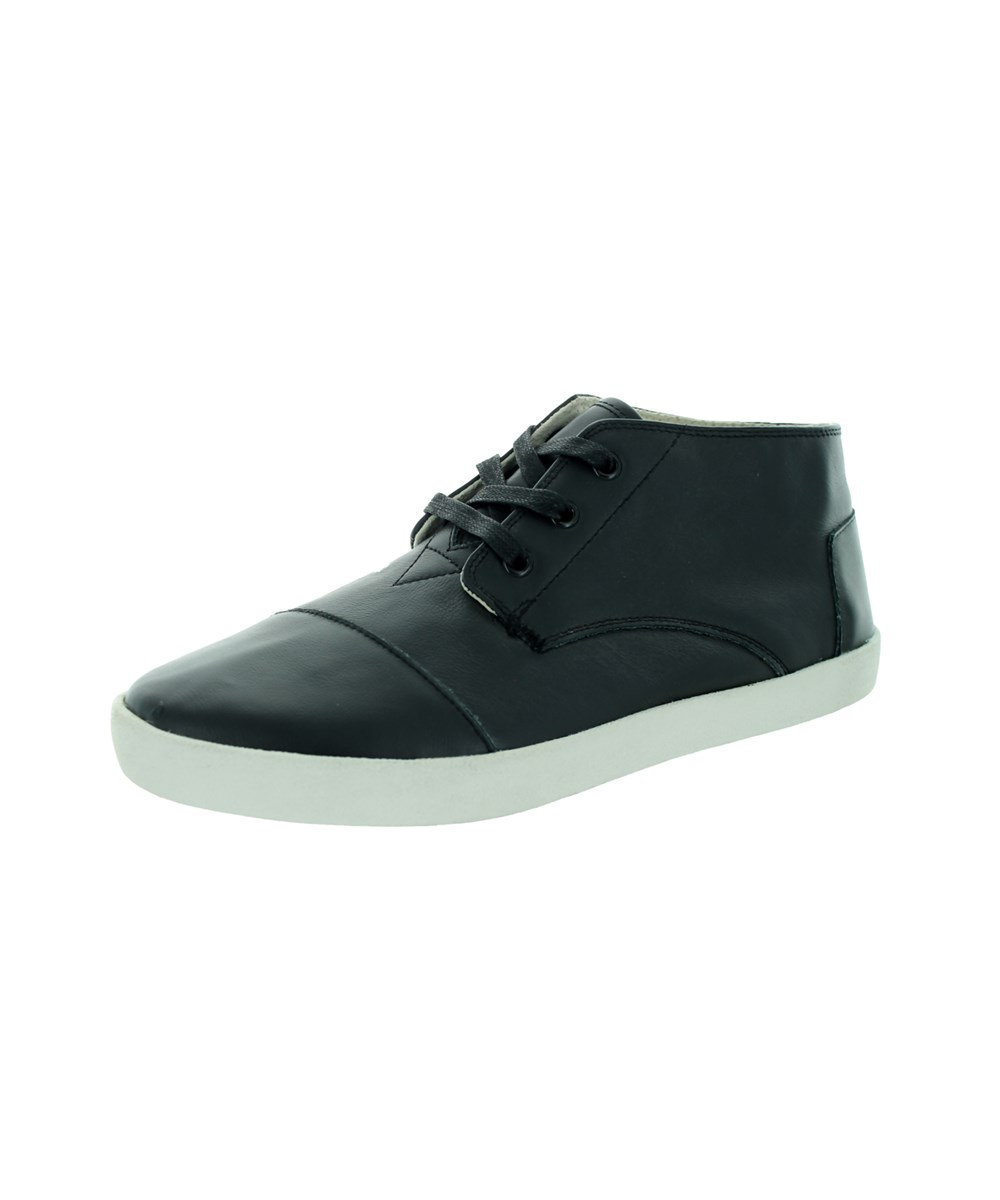 Toms Men's Paseo Mid Casual Shoe In Black