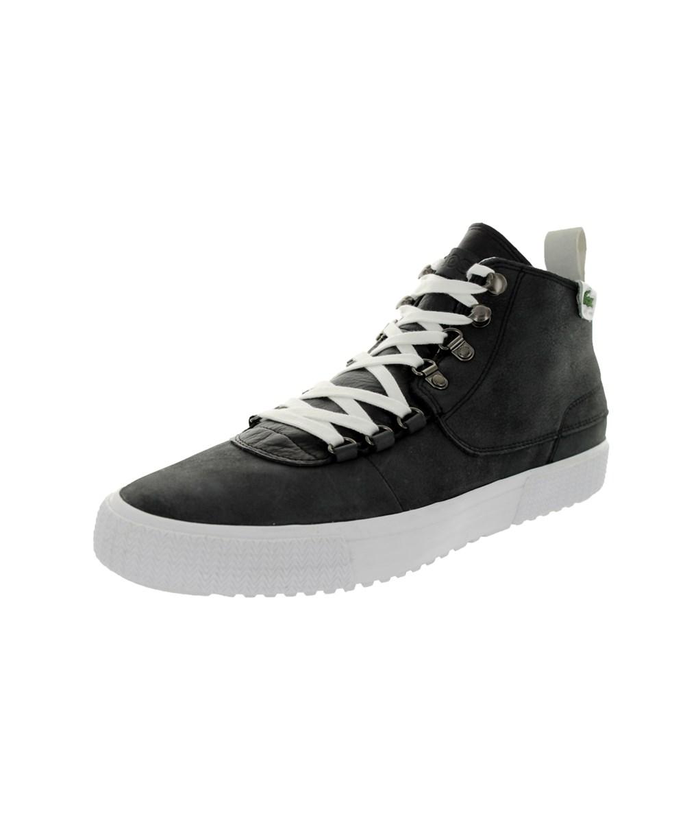 Lacoste Men's Bruton Al Lem Casual Shoe In Black