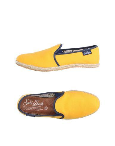 Mc2 Saint Barth Espadrilles In Yellow