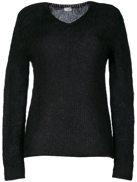 Saint Laurent Classic Knitted Sweater