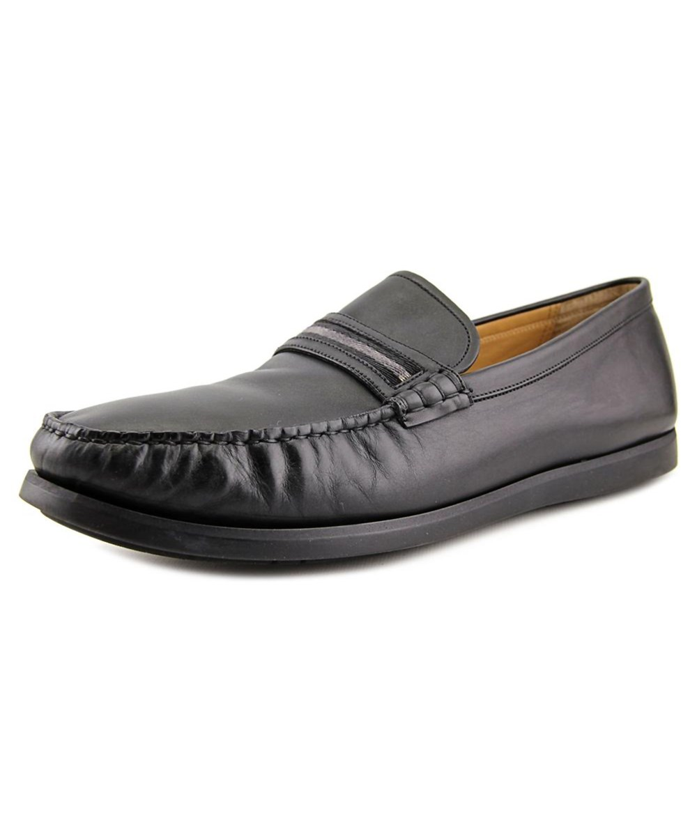 Bally Pearce   Round Toe Synthetic  Loafer In Black