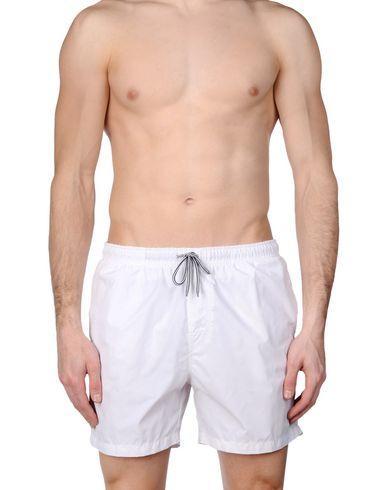 Mc2 Saint Barth Swim Trunks In White