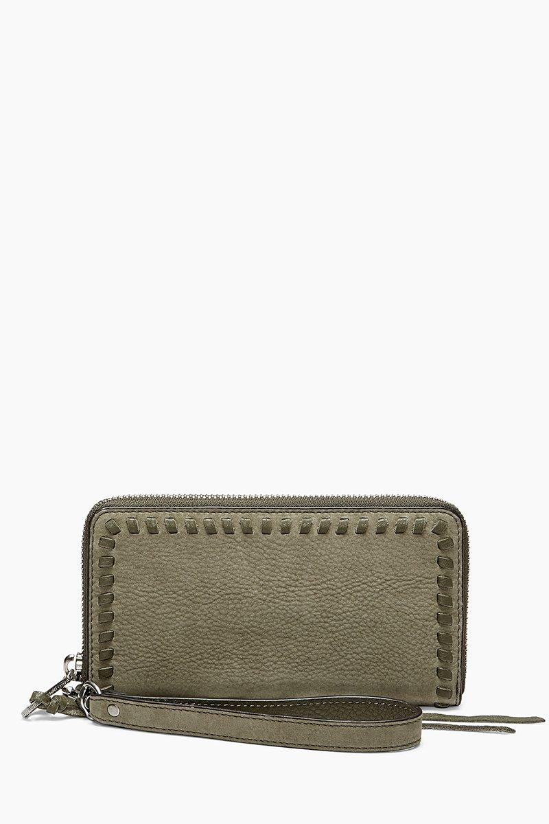 Rebecca Minkoff Vanity Phone Wallet In Olive