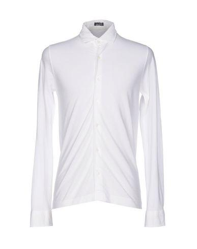 Drumohr Solid Color Shirt In White