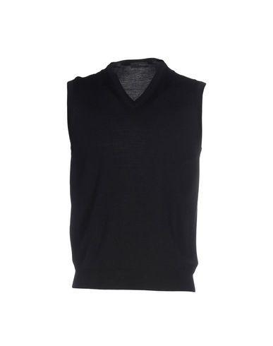 Drumohr Sleeveless Sweater In Dark Blue