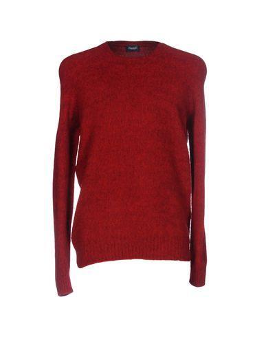 Drumohr Sweater In Brick Red