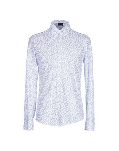 Drumohr Patterned Shirt In White