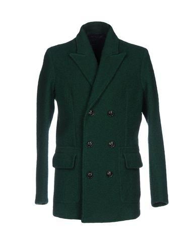 Drumohr Coat In Emerald Green