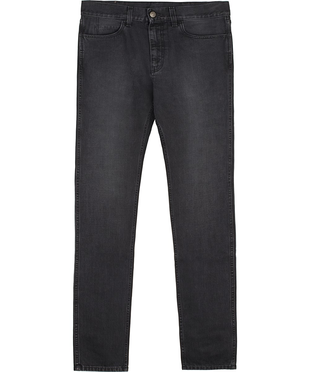 Gucci Men's  Black Cotton Jeans