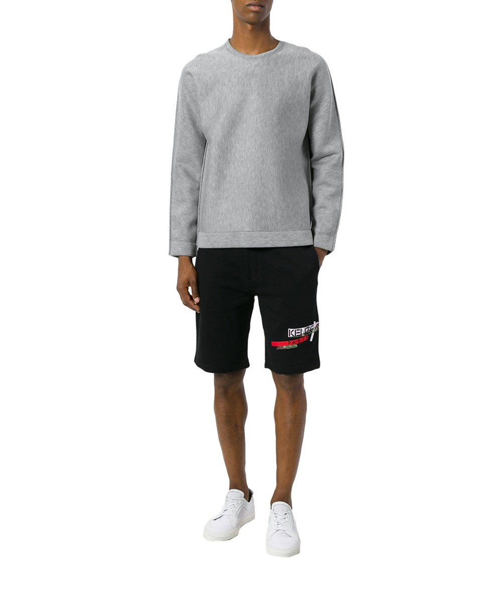 Kenzo Men's  Black Cotton Shorts