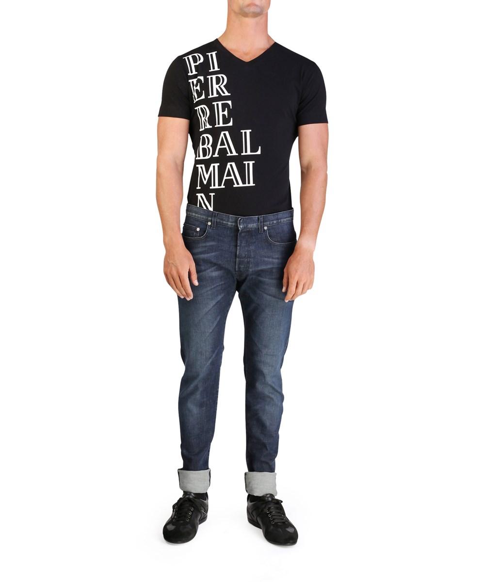 Dior Homme Men's Bleu Marine Slim Fit Denim Jeans Pants Blue