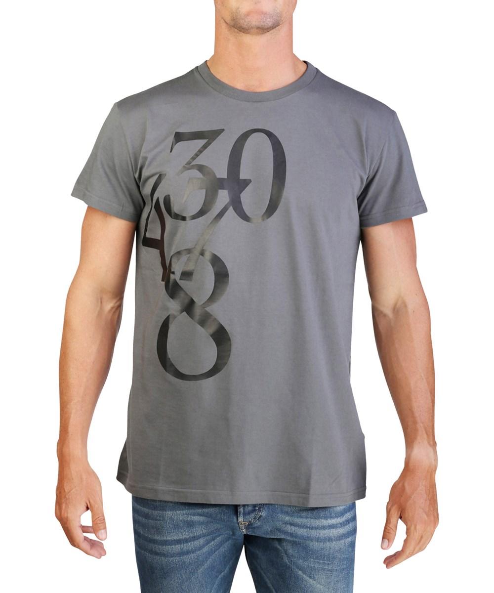 Dior Homme Men's Number T-shirt Grey