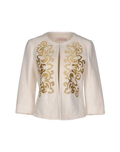 Tory Burch Blazers In Ivory